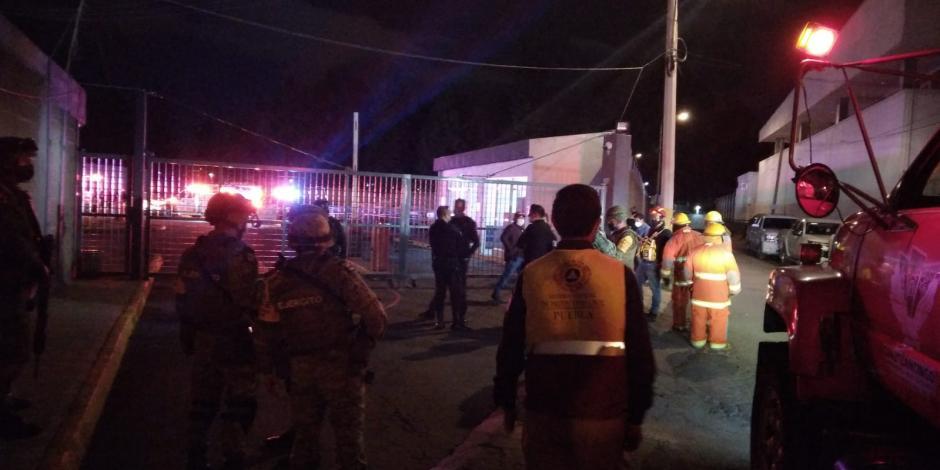 Explosión en FGR de Puebla deja dos muertos