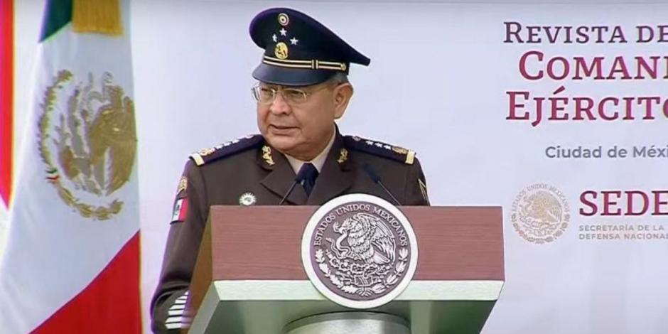 Eufemio Alberto Ibarra Flores fue nombrado como comandante del Ejército Mexicano en una ceremonia en el Campo Marte de la Sedena.