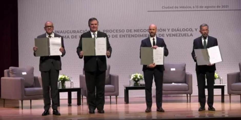 Marcelo Ebrard-Venezuela-México