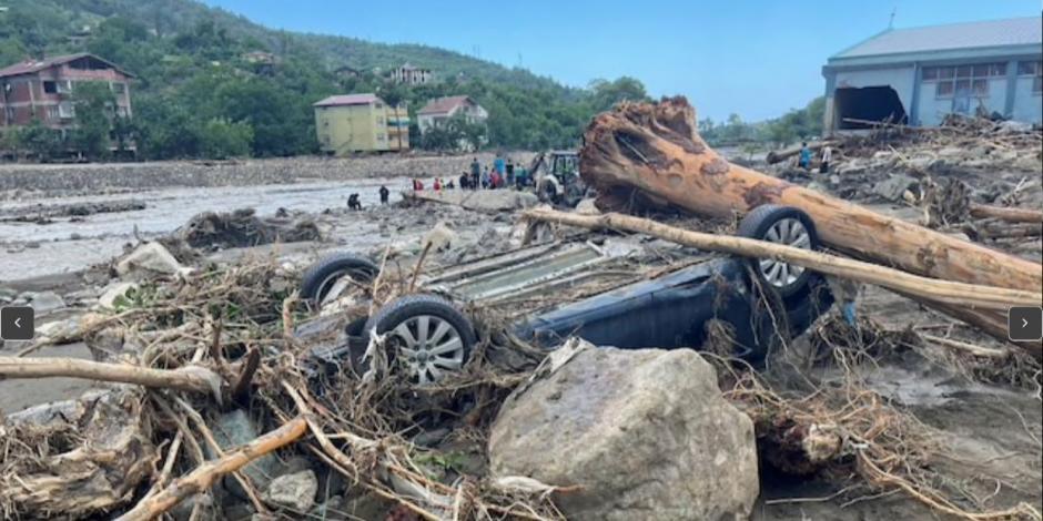 Inundación en Turquía