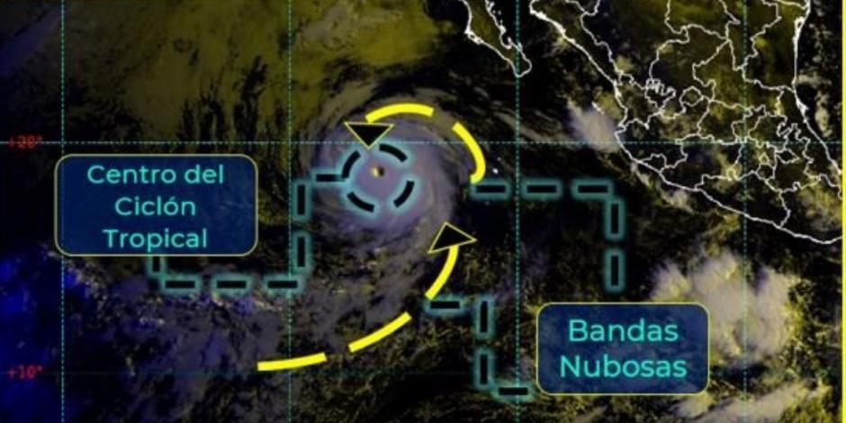 Huracán Linda categoría 4