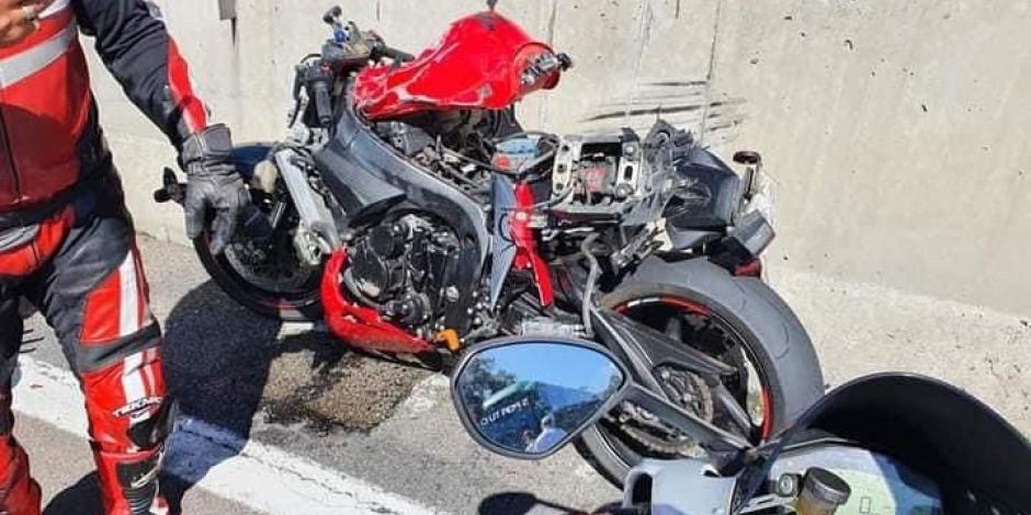 Accidente en carretera México Cuernavaca