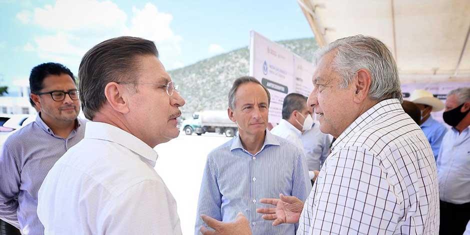 López Obrador se reúne con gobernadores en Lerdo