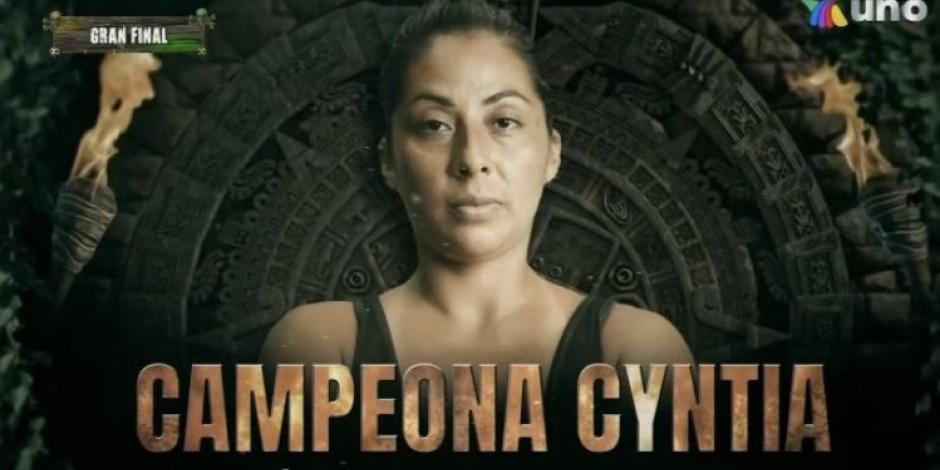 cyntia campeona