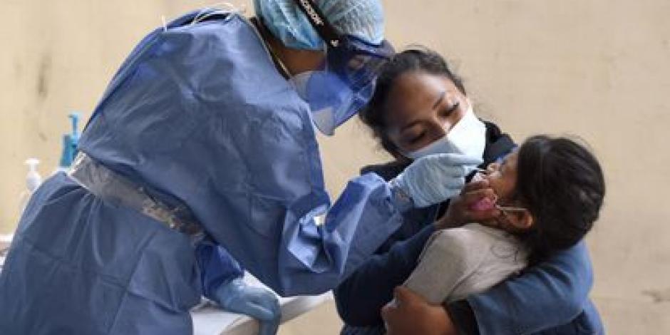 Cada 24 horas, 19 menores son hospitalizados a causa del Covid