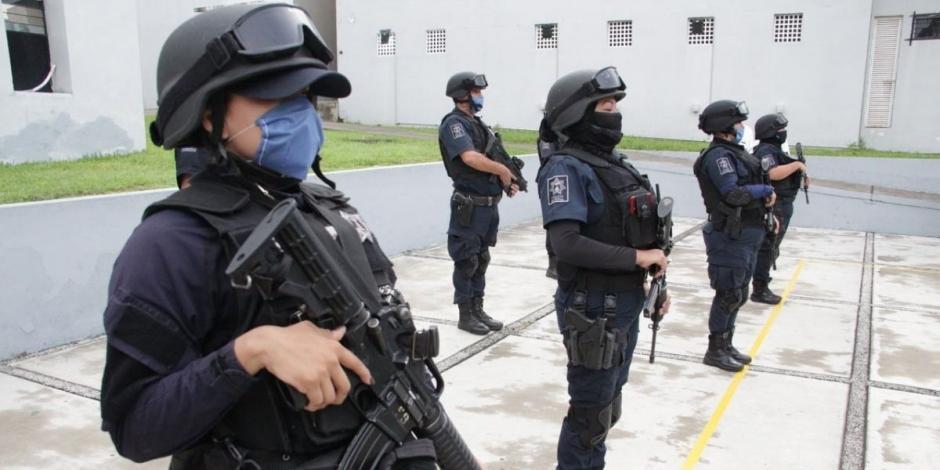 Gobierno de Colima anuncia pago a policías