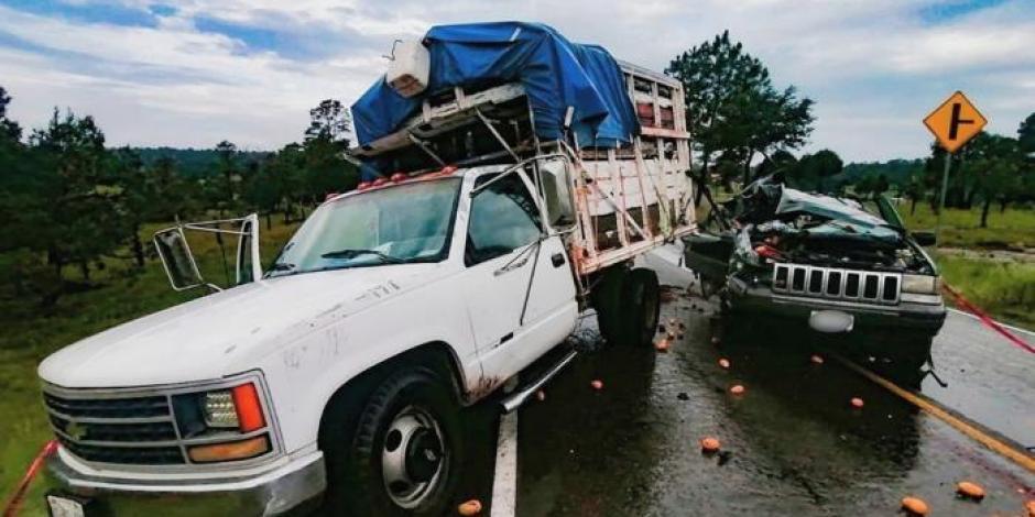 Choque fatal en la carretera Mazatlán-Durango