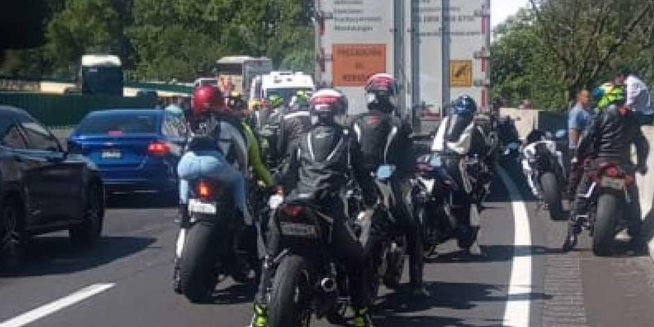 Accidente motocicletas