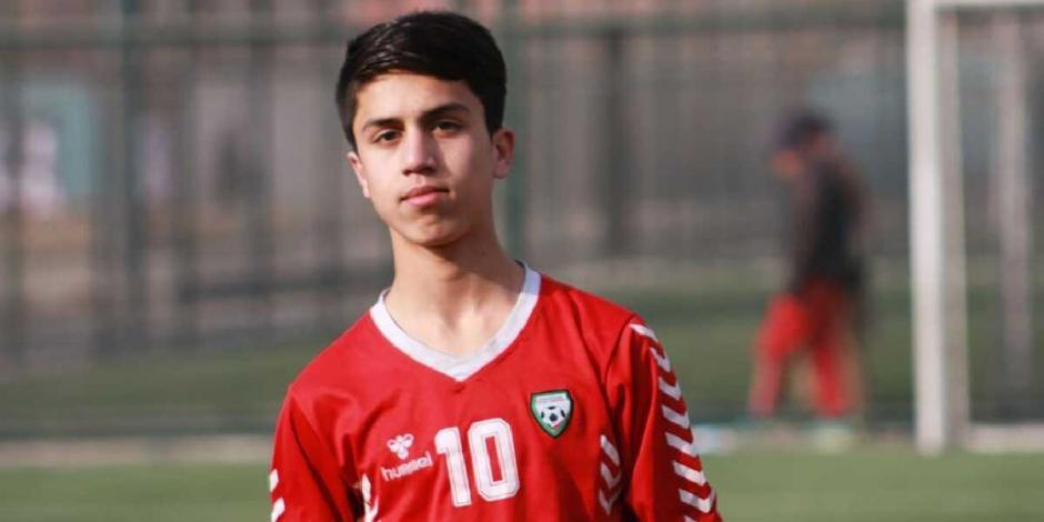 muere futbolista afgano