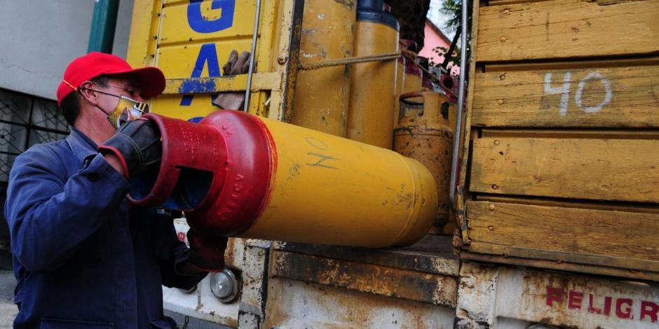 Venta de gas LP