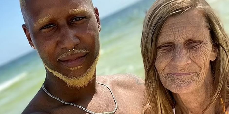 abuela con su novio