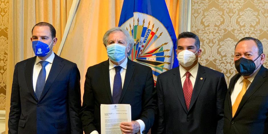 Oposición con OEA