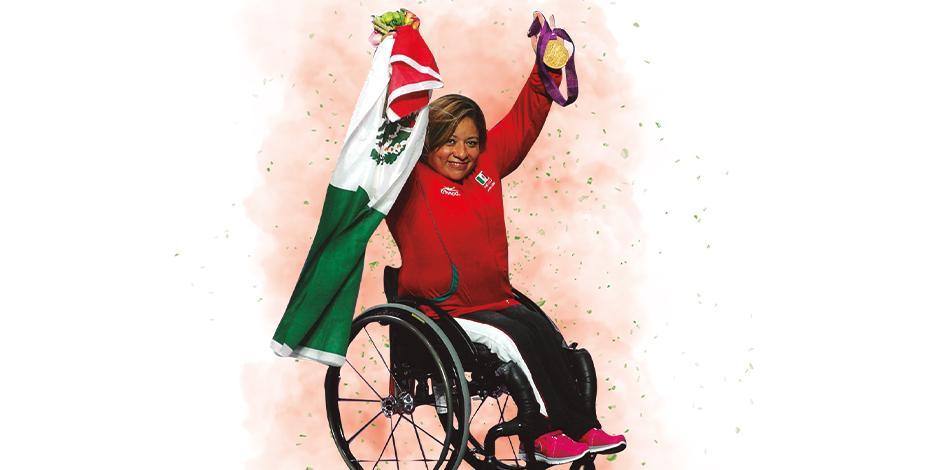 amalia pérez Medallas paralímpicas: 5 (plata en 2000 y 2004 y oro en 2008, 2012 y 2016).