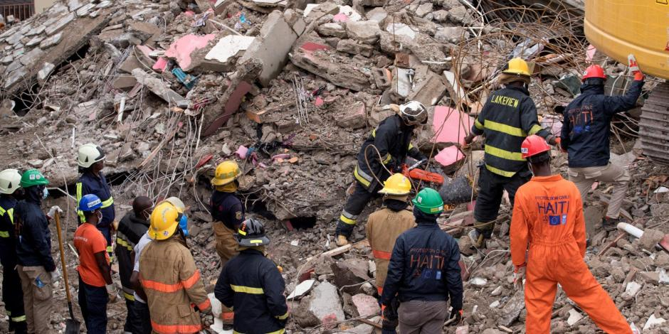 Esperanza en Haití; rescatistas encuentran personas con vida a una semana del terremoto