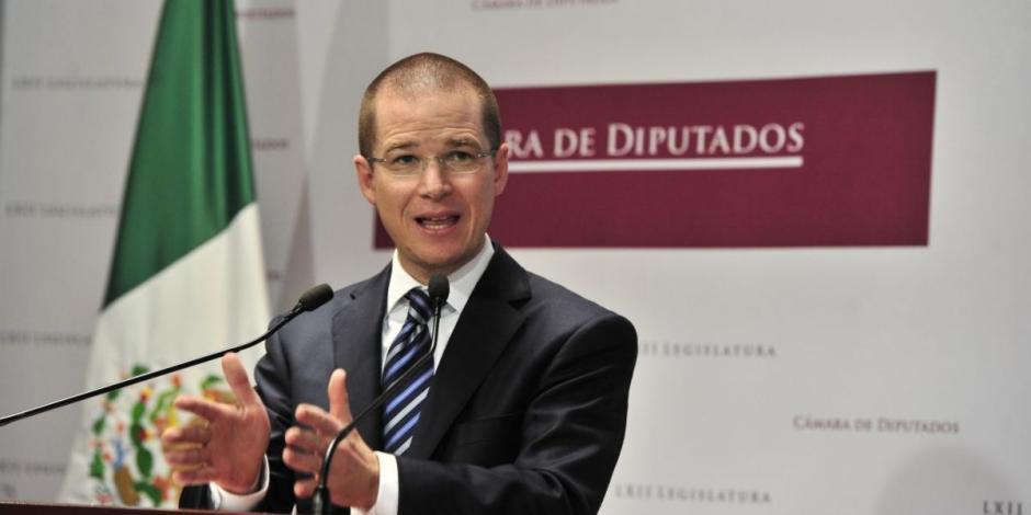 Ricardo Anaya-Camara de Diputados-