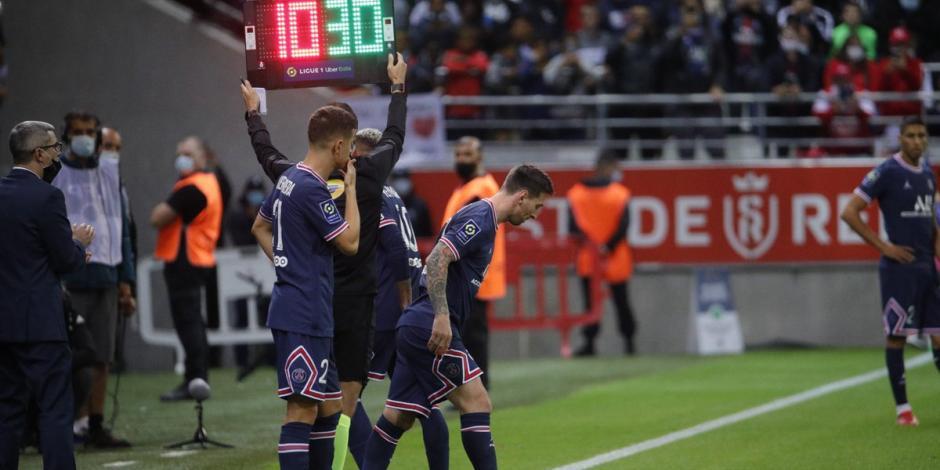 VIDEO: Así fue el debut de Lionel Messi con el Paris Saint-Germain