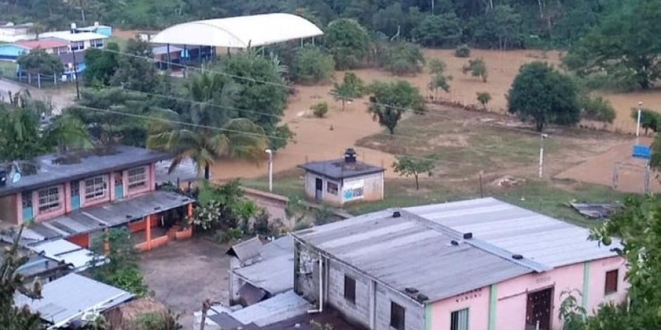 Oaxaca inundaciones