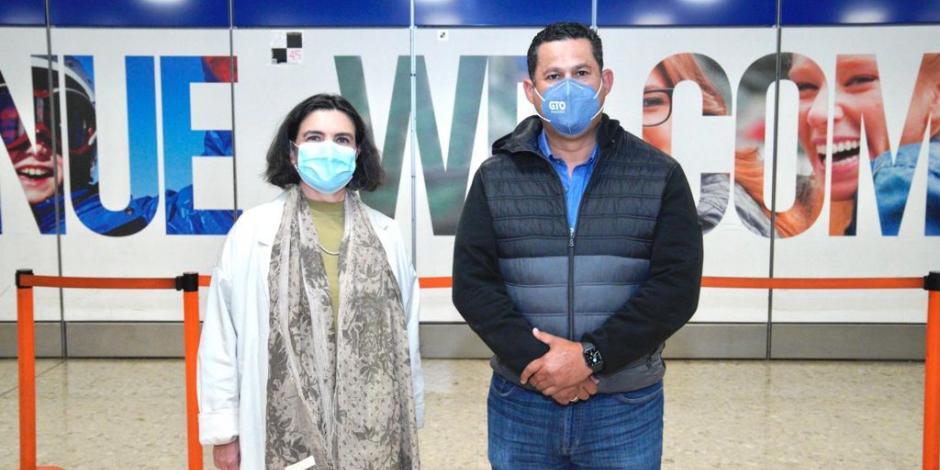 Gobernador de Guanajuato en su gira por Europa