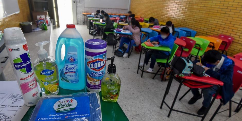 regreso a clases sin agua