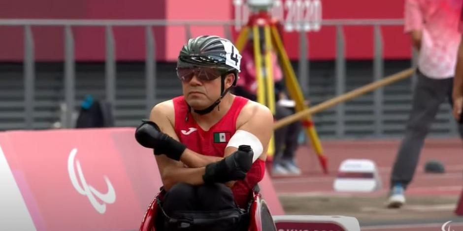 Juegos Paralímpicos: Édgar Navarro se cuelga el en los 200 metros