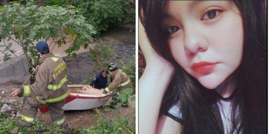 Encuentran cuerpo de Ana Karen, joven arrastrada por una corriente de agua en Tlalnepantla