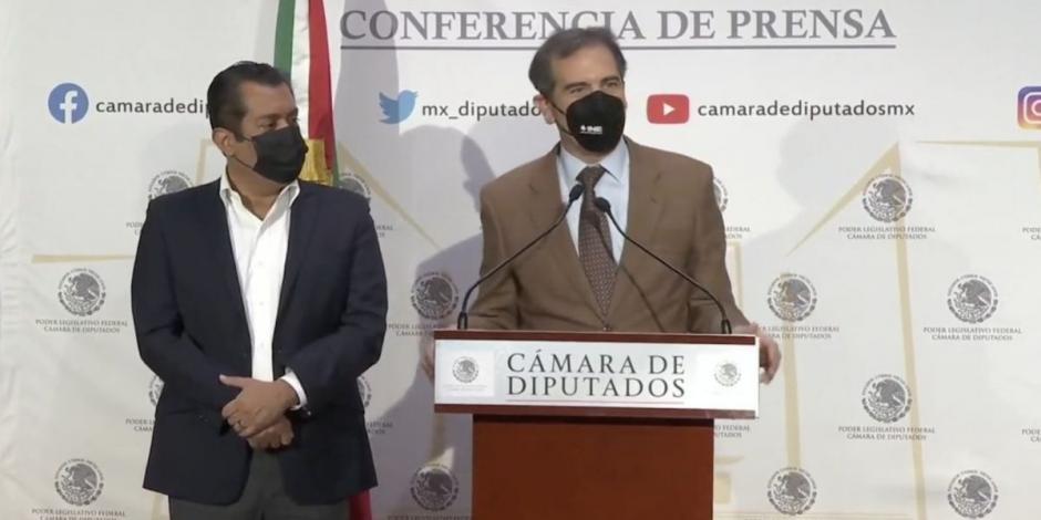 Lorenzo Córdova y Sergio Gutiérrez acuerdan iniciar relación de diálogo