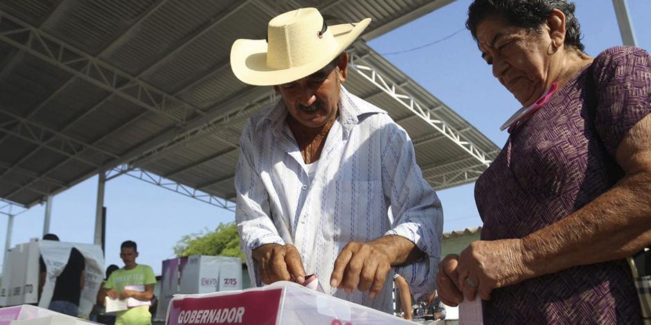 La elección en Michoacán estuvo marcada por episodios de violencia.