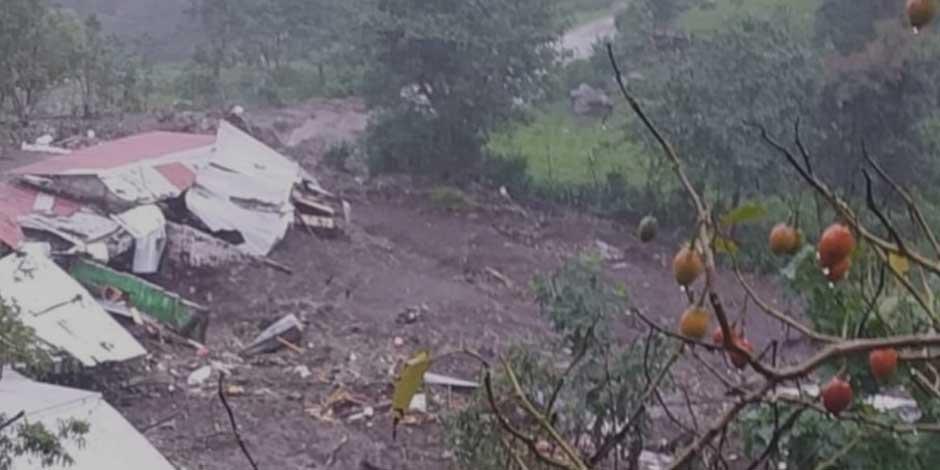 Deslave Chiapas