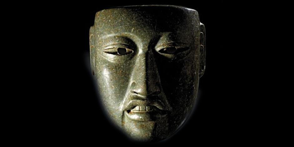Máscara de jade olmeca Antigüedad:  1500 a 600 a. C.  Precio de salida: 100 mil euros ( dos millones 347 mil 96 pesos)