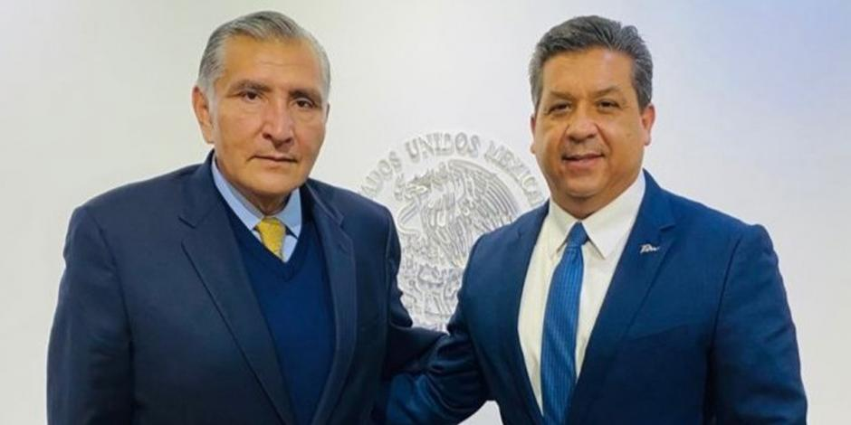 Adán Augusto y Francisco García Cabeza de Vaca
