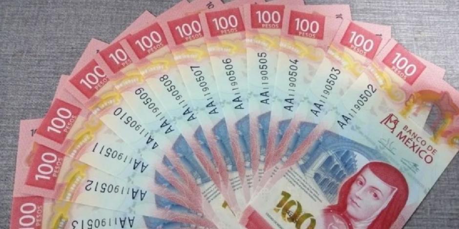 El billete mexicano de 100 pesos ganó el primer lugar entre cientos de participantes