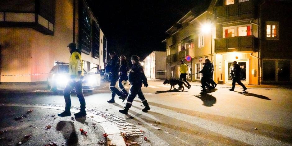 Sujeto armado con arco y flechas mata a varias personas en Noruega