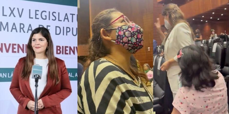 """Diputada de Morena acusa al PAN de montar """"circo carroñero"""" con madre de niño con cáncer"""